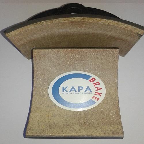Kapabrake-Elevator-Winch-Brake-Shoes