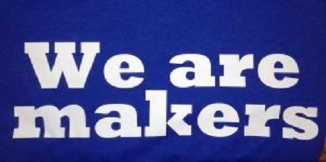 We are makers T shirt